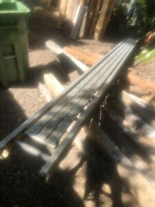 Werner #2016 aluminum stage, scaffold, walk plank
