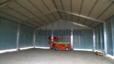 Industrie-Lagerhalle 12,5x55x4,3 sk 90kg Schneelasthalle Leichtbauhalle Aluhalle