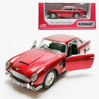 Kinsmart 1:38 Die-cast 1963 Aston Martin DB5 Car Red Model with Box Collection