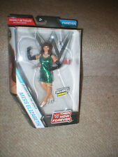 WWE MISS ELIZABETH, GREEN DRESS FROM THEN, NOW, FOREVER SERIES, IN HAND, UNOPEN