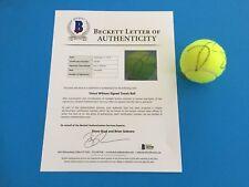 Venus Williams Wimbledon Wilson Ball Signed Auto Beckett BAS LOA COA