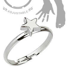 Petite Star Adjustable Mid Ring / Toe Ring