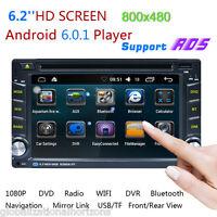 ANDROID 6.0 AUTORADIO DOPPEL 2DIN MIT NAVIGATION GPS RDS WIFI 3G USB BLUETOOTH