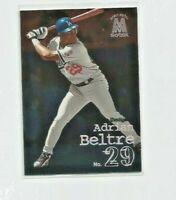 ADRIAN BELTRE (Los Angeles Dodgers) 1999 SKYBOX HEAVY METAL CARD #116
