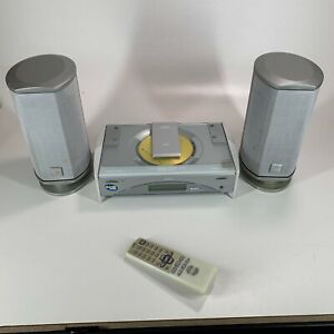 JVC Compact Component System FS-SD770R CD Player and Speakers with Remote VGC