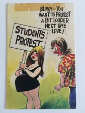 Vintage Postcard - Bamforth Comic By Taylor #487 - Posted 1976