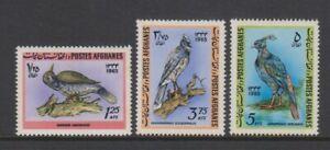 Afghanistan - 1965, Oiseaux Ensemble - MNH - Sg 543/5
