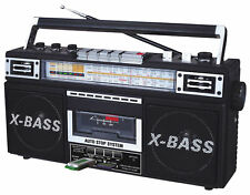 QFX J22U ReRun Cassette Player Boombox