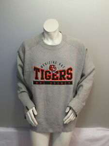 Medicine Hat Tigers Sweater - Stitched Team Logo by Russell Athletic - Men's XL