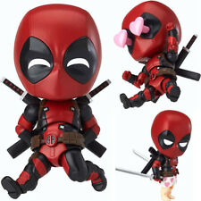 """Nendoroid Deadpool Clay Doll Figure Action Toy Marvel Gift Collection Model 3.9"""""""
