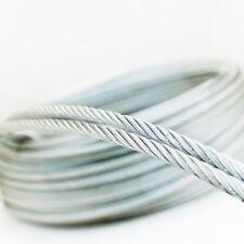 10m Edelstahlseil Stahlseil Drahtseil 1mm - 10mm Inox Edelstahl Seil 7x7 7x19