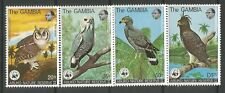 STAMPS-GAMBIA. 1978. Abuko Nature Reserve 2nd Series-Birds Set. SG: 400/03. MNH.