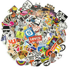 100 Aufkleber / Sticker-bomb Retro-, Graffiti- Style,Tuning Logos & Marken -Set7