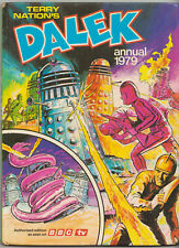 RARE: Dalek Annual 1979. Doctor Who. % to charity do! Unclipped price tag.