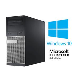 Dell OptiPlex i7 (16GB RAM, 500GB SSD + 3TB HDD, Windows 10) Desktop Computer PC