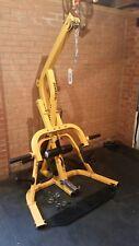 Powertec Leverage Gym Multigym  attachments  preacher leg curl pec fly bench