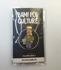 Joe Exotic Tiger King Enamel Pin Fan Art Family Guy Style Bam Box Exclusive