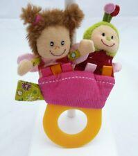 Lilliputiens hochet anneau dentition marionnette personnages 12 x 17 cm