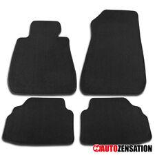 2007-2013 BMW E92 3-Series Coupe Black Cotton Side Carpet Floor Mats 4 Pieces