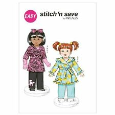 McCall's Patterns M6634 Clothes for 18-Inch Doll Sewing Template