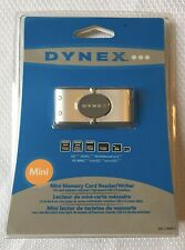 New Dynex Mini Memory Card Reader/Writer for Pc Laptop Computer Dx-Crmn1