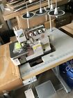 PEGASUS JAPAN 4-THREADS HEAVY DUTY OVEREDGER SEWING MACHINE (COMPLETE SET)