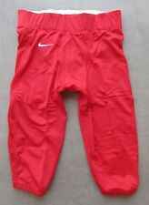 NIKE TEAM VELOCITY RED FOOTBALL PANTS ADULT SIZE 2XLARGE STYLE 535705 MSRP $65