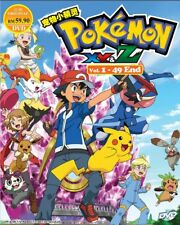 DVD Anime POKEMON XY & Z Complete Series (1-49 End) English Subtitle All Region