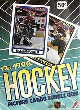 1990-91 TOPPS NHL HOCKEY 36 WAX PACK TRADING CARD BOX!