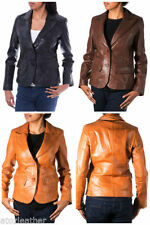 Hip Length Coats & Jackets Classic Neckline Blazer for Women