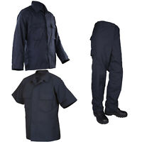 Protocol Tactical Poly/Cotton Navy Blue Anti Static Durable Rip Stop Uniform/BDU