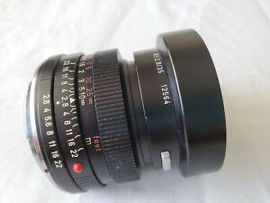 LEITZ WETZLAR GERMANY SUMMICRON-R 1:2.8 / 35mm LENS