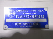 Lancia Nameplate Flavia Convertible Cabriolet
