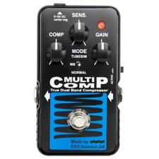 EBS MultiComp Blue Label Analog Multiband Compressor Pedal