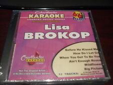 CHARTBUSTER 6+6 KARAOKE DISC 20628 LISA BROKOP CD+G COUNTRY MULTIPLEX
