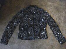 Black TFNC Sequin Bead Embellished Jacket Shrug Size Small BNWT Ethnic Boho