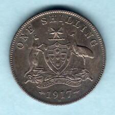 Australia.  1917 Shilling ..  gEF