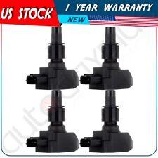 Ignition Coil Pack Set of 4 For 2004-2011 Mazda RX-8 N3H1-18-100B-9U  UF501 1.3L