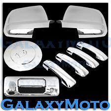 14-16 TOYOTA TUNDRA Chrome FULL Mirror+ 4 Door Handle+Tailgate Camera+Gas Cover