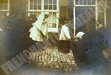 PHOTOGRAPHIE 1906 dernière heure en Flandre GEORGES DILLY Salon 1906 dédicace