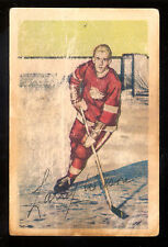1952 53 PARKHURST HOCKEY #92 LARRY WILSON RC VG DETROIT RED WINGS ROOKIE CARD