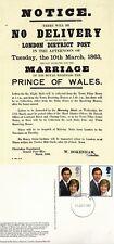 1981 ROYAL WEDDING POSTER NATIONAL POSTAL MUSEUM SS/4 POSTCARD FDI