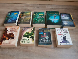 Büchersammlung Buchpaket 9 x Fantasy Romane
