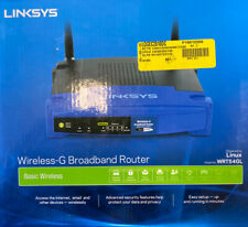 Cisco Linksys WRT54GL 54 Mbps 4-Port 10/100 Wireless G Router - Open Box