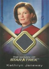 "Women of Star Trek - WCC1 GREY Kate Mulgrew ""Kathryn Janeway"" Costume Card"