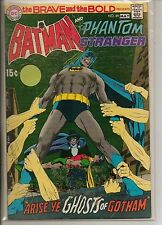 DC Comics Brave & Bold #89 May 1970 Batman & Phantom Stranger F