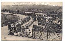 st-germain-en-laye, panorama pris de la terrasse