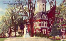 Veterans' Memorial, Pultner Park and First Presbyterian Church, Geneva, Ny