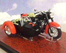 BATMAN AUTOMOBILIA DIECAST 1/22 BLACK WIDOW BIKE/SIDECAR 1966 CLASSIC TV SERIES