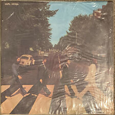 The Beatles SEALED 1969 Uruguay Abbey Road LP - SAPL 30506 A-Side Sliced Apple